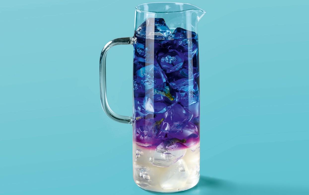 Пурпурный чай летом