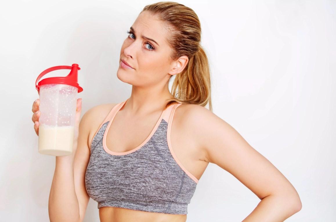 Спорт и белковые коктейли