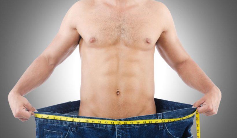 Похудеть мужик