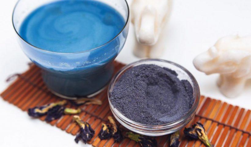 Пурпурный чай в порошке