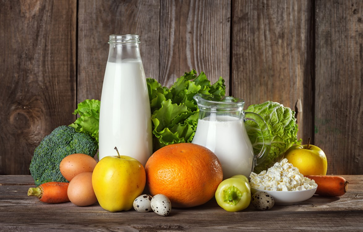 Молочно растительная диета