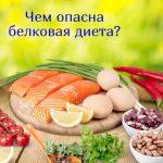 Вредит ли белковая диета?