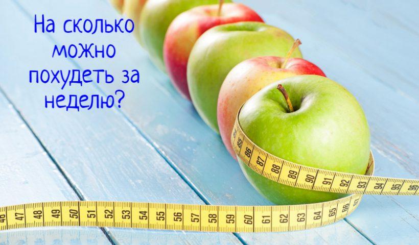 Яблоки и метр