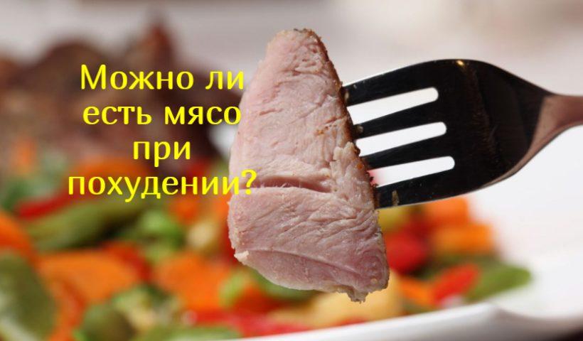 Можно ли есть мясо при похудении