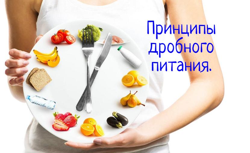 Принципы дробного питания