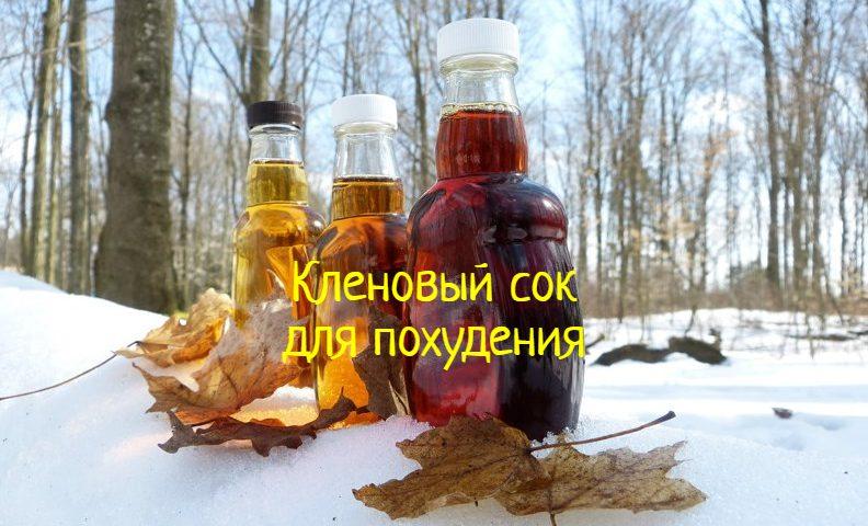 Кленовый сок похудение