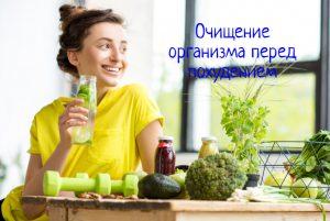Очищение организма перед похудением