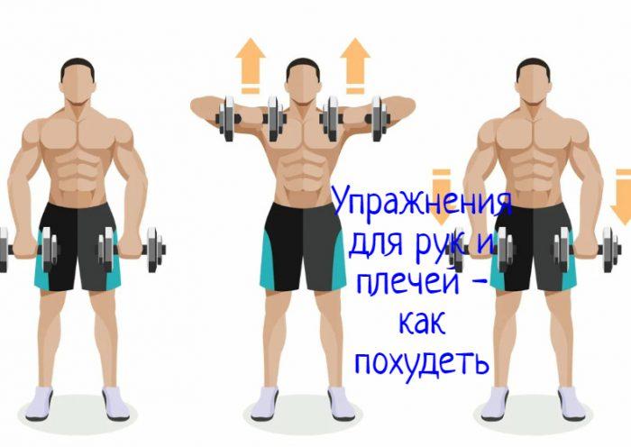 Упражнения для плечей и рук